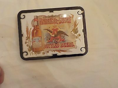 Anheuser-Busch Bottled Beers Playing Cards In Tin
