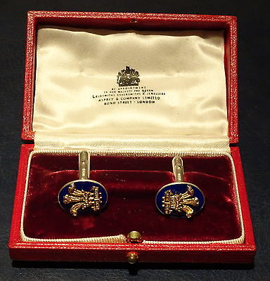 1981 Prince of Wales and Diana Royal Wedding Presentation Cufflinks