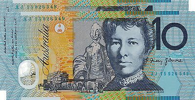 AUSTRALIA $10 Dollars x 2 2015 NEW Stevens/Fraser P58h? - Run of 2 UNC Banknotes