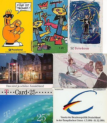 GERMANY 7 x Phone Cards (lot 2)