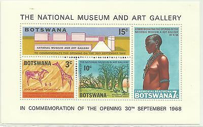 South Africa  BOTSWANA Block  The National Museum 1968