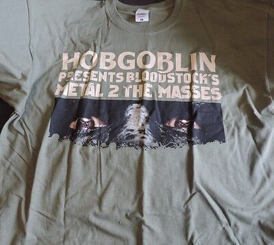 Wychwood Brewery Hobgoblin Metal To The Masses T-Shirt Size Xl