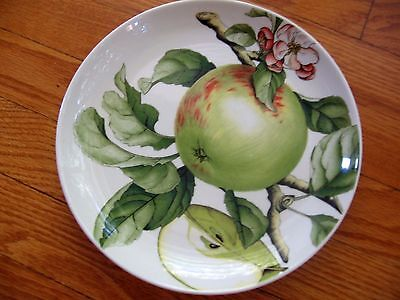 "PORTMEIRION EDEN FRUITS 9-1/8"" SALAD Luncheon PLATE ""APPLE"" APPEARS UNUSED"