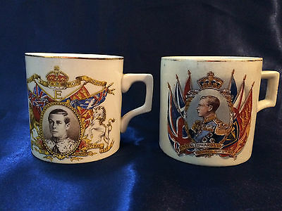 King Edward VIII Coronation Cups May 12th 1937