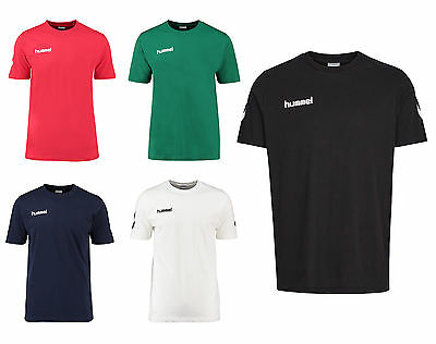 Hummel Core Cotton Tee Shirt Herren Handball Fußball Gr. S - 3XL Art. 009-541