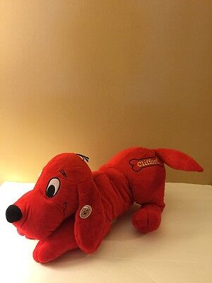2009 Clifford The Big Red Dog Plush With Tag Stuffed Animal