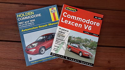 Holden Commodore VR & VT manuals