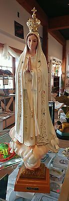 Our Lady Of Fatima Statue (2 UNITS LEFT) ( Made In Portugal ) 20 inch