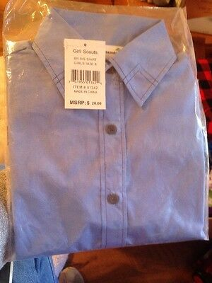 Girl Scout BR S/S Shirt Size Sz 8