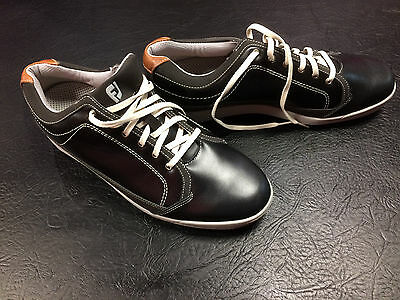 Footjoy Contour Casual Golf Shoes - Black - Various Sizes