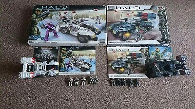 Halo Mega Bloks UNSC Wolverine OLD and NEW sets