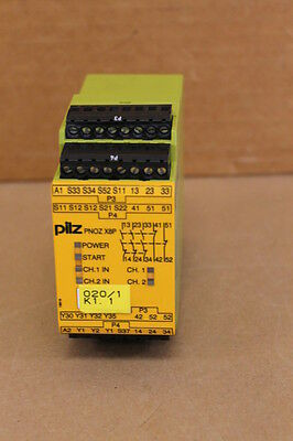 Pilz Pnozx8P24Vdc3N/02N/c2S0 Safety Relay