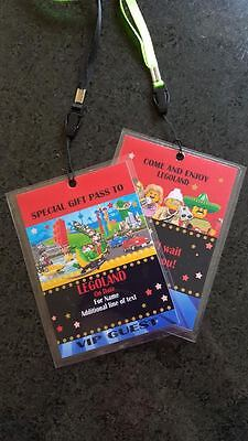 Personalised Legoland / Lego Christmas Birthday VIP Gift Pass Lanyard