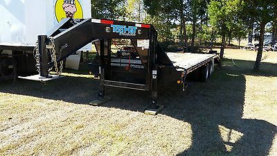 favorite this post  25 Ft Goose Neck Trailer with Winch