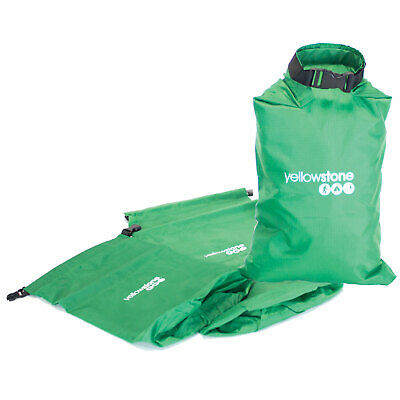 YELLOWSTONE 3er Set Packsack - Dry Bag Beutel Roll Pack Sack wasserdicht 2000 mm