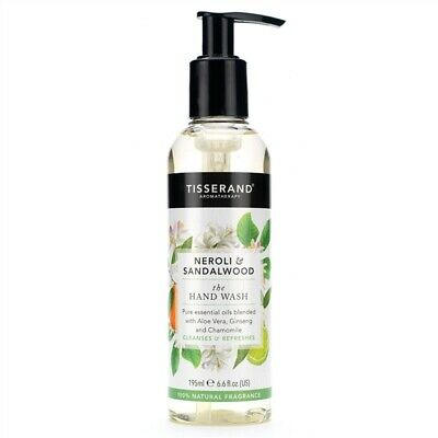 Tisserand Neroli & Sandalwood Hand Wash 195ml with Aloe Ginseng & Chamomile