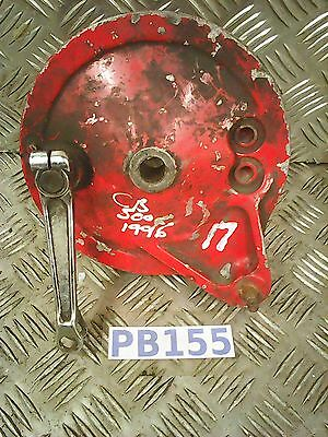 honda cb500 cb 500 back brake hub rear brake plate