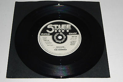 "The Damned New Rose / Help Stiff Records A1/b1 7"" - Mint & Unplayed"