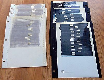 Lot 208 NY Times Microfilm Cards Current Events Edition 1982 & 1989 Microfiche