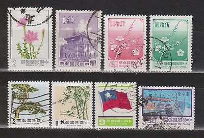 Taiwan (Republic Of China) - 1962-1985 - 8 Different Stamps