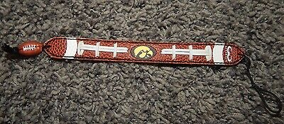 """Youth Size """"iowa Hawkeyes"""" Football Bracelet--Excellent"""