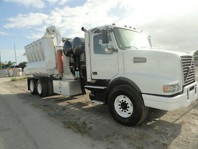2007 Volvo GapVax HV-56 Wet/Dry vacuum truck Excavation and Hydro-Excavation