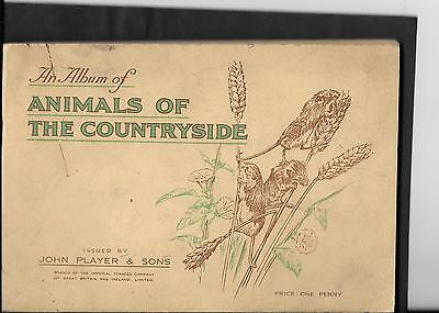 Player's - Animals Of The Countryside 1939 - Full Set In Album