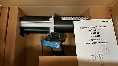 Sulzer mixpac DP 200-70  pneumatic dispensing gun NEW!!