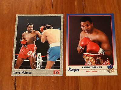 Larry Holmes Boxing Cards