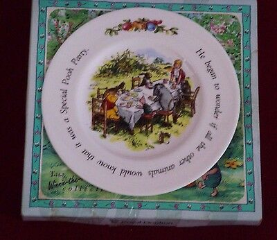 Winnie The Pooh Birthday Plate Royal Doulton Collectable