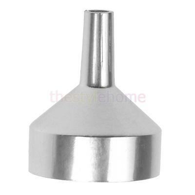 wholesale Eco-friendly mini perfume metal funnel cosmetic tool Silver