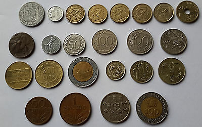 Mix lot of south European coins
