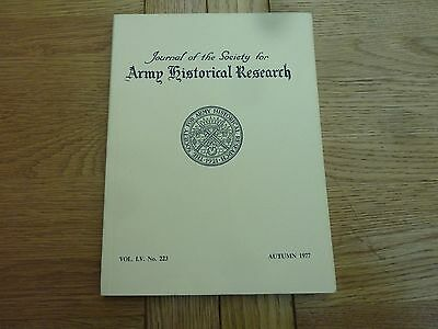 1977 Army Historical Research Book - Battle Of Meanee Article