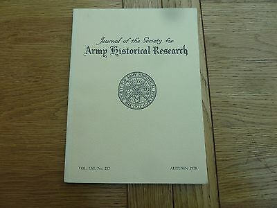1978 Army Historical Research Book - Glengarry Highlanders 1837-38 Article
