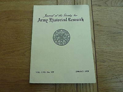 1979 ARMY HISTORICAL RESEARCH BOOK - WINTER IN CRIMEA 46th REGT ARTICLE