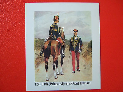 Scarce John Brindley Collectors/trade Card-11Th Prince Albert's Own Hussars
