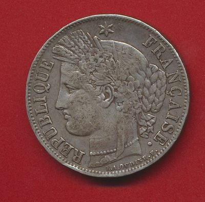 5 Francs - Ceres - 1849 - A - Paris