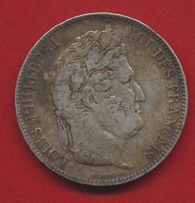 5 FRANCS - LOUIS-PHILIPPE 1er - 1833 - A - PARIS