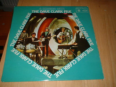 The Dave Clark Five ‎– A Session With The Dave Clark Five 1968 LP