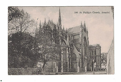 Old Postcard. 100 St. Phillips Church,  Arundel. Sussex