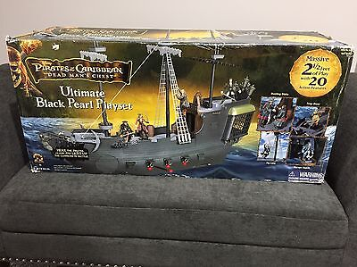 Pirates of the Caribbean, Dead Mans Chest, Ultimate Black Pearl Playset
