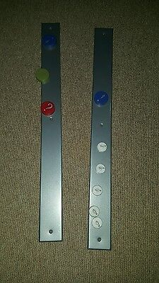 magnetic wall strips x2