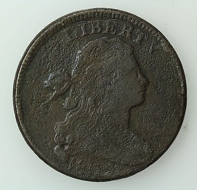 1802 Draped Bust Large Cent! Vf Details! 1C! Us Coin Lot #318