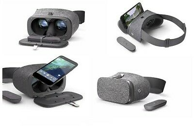 Genuine Google Daydream View Virtual Reality VR Headset 3D Glasses Slate Grey