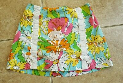 Girls Lilly Pulitzer 14 skort Paint by Numbers skirt 14 girls Lilly Pulitzer