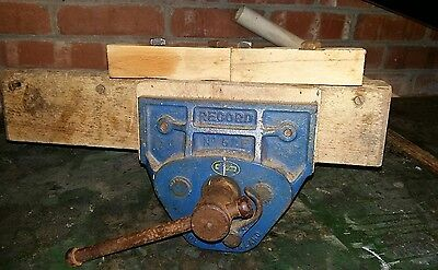 Record 7 inch quick release woodworking vice