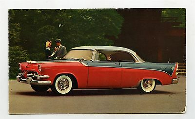 1956 Dodge Custom Royal Lancer ORIGINAL Factory Postcard ft1850