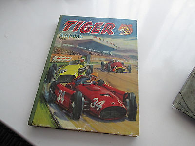 TIGER ANNUAL 1958 ( The Second One ) Roy of the Rovers - Nice book