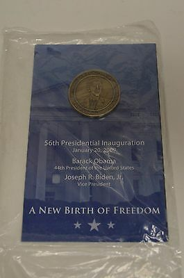 2009 Barack Obama 56TH presidential Inauguration Booklet Coin  RARE SEALED
