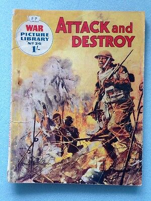 War  picture library No 26 Attack And Destroy